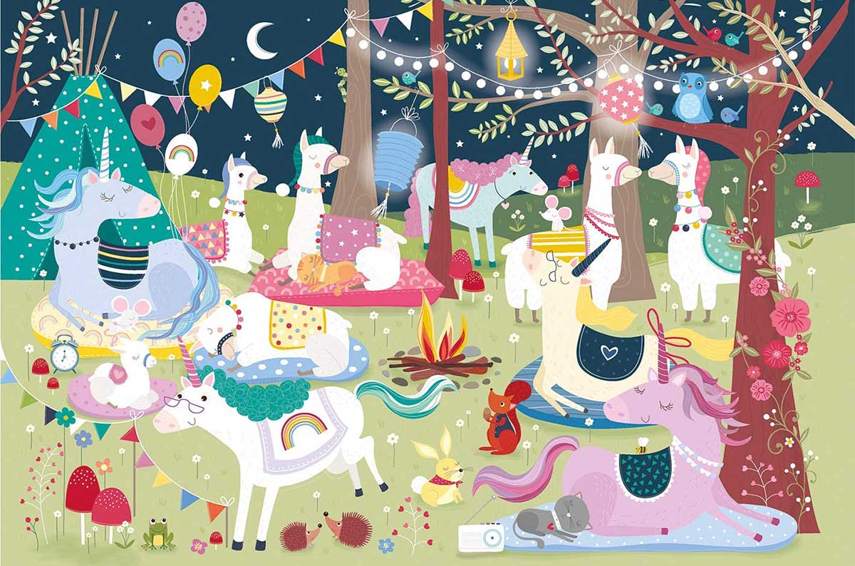 Sweet Dreams Unicorns Jigsaw Puzzle