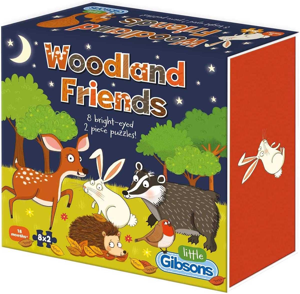 Woodland Friends Animals Children's Puzzles