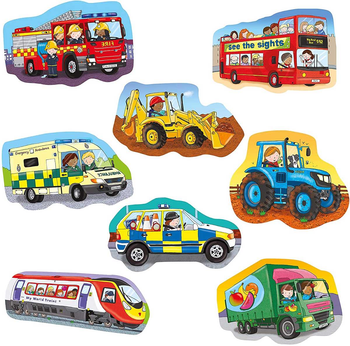 Wheels Cars Children's Puzzles