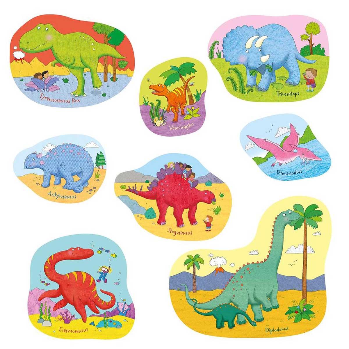 Dinosaur Jigasawrus Dinosaurs Jigsaw Puzzle