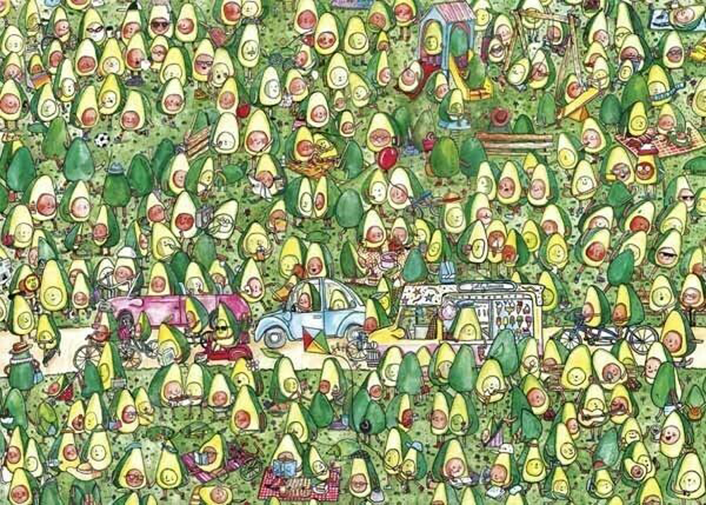 Avocado Park Food and Drink Jigsaw Puzzle