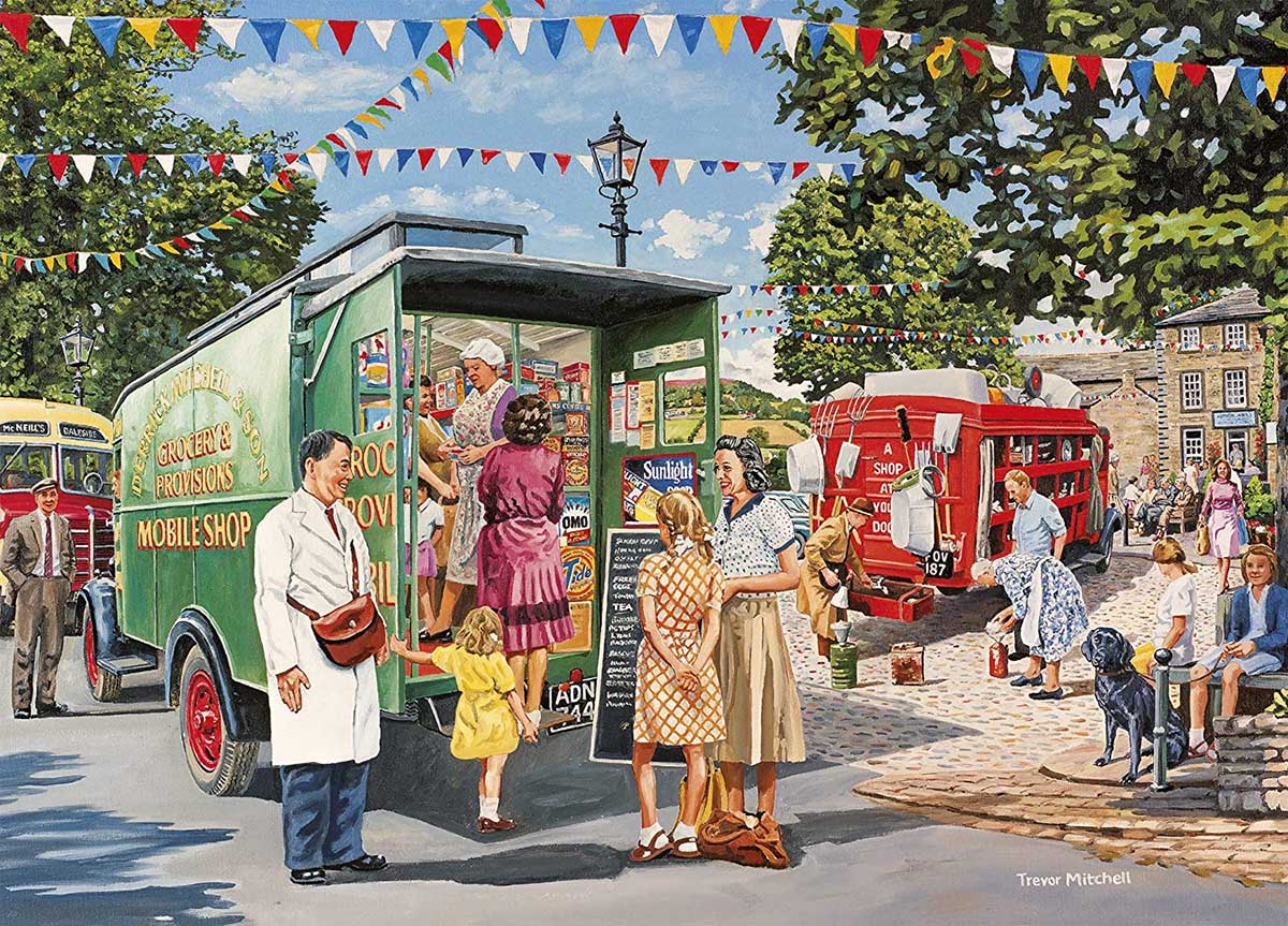 Mobile Shop Vehicles Jigsaw Puzzle