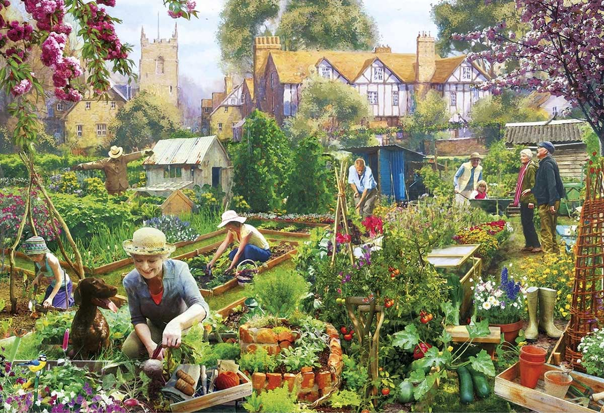 Green Fingers Summer Jigsaw Puzzle
