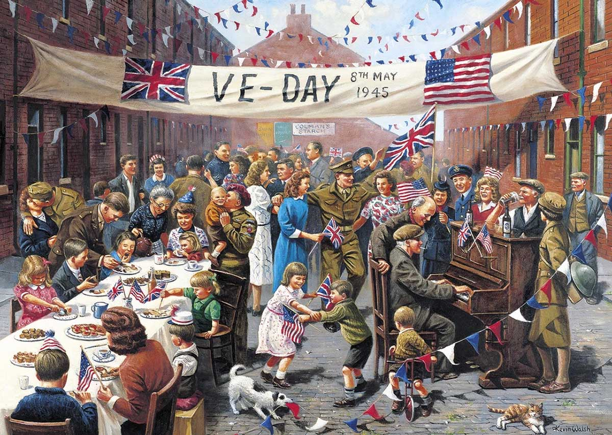 VE Day History Jigsaw Puzzle