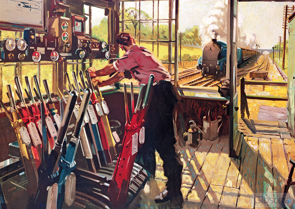 On Early Shift Trains Jigsaw Puzzle