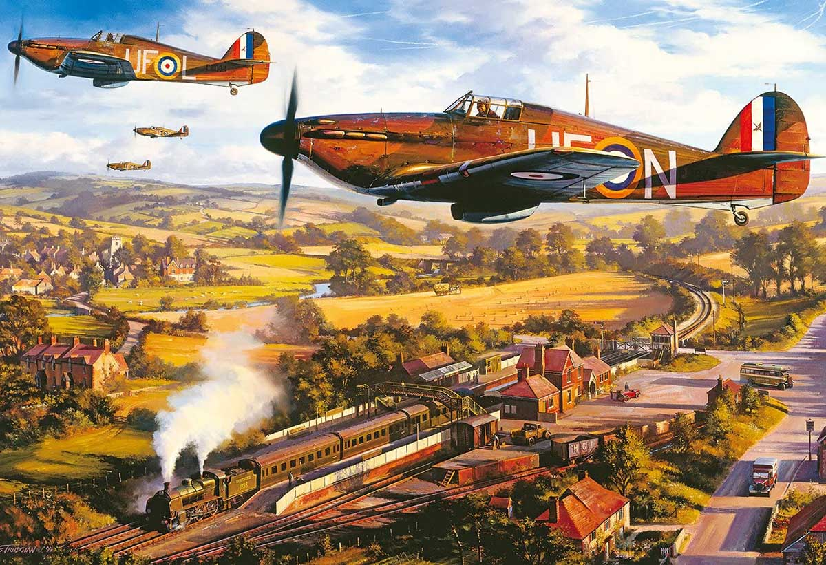 Tangmere Hurricanes Planes Jigsaw Puzzle