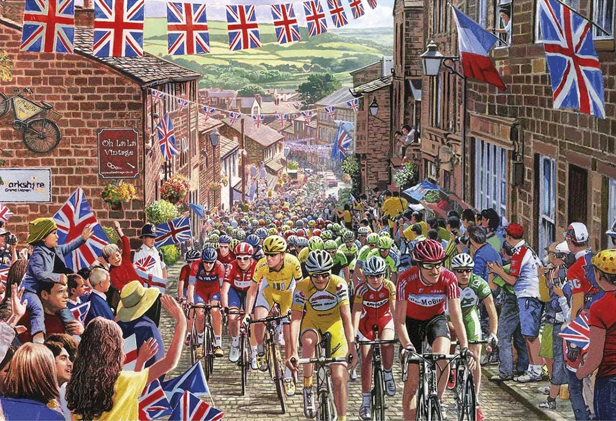 Le Tour de Yorkshire Sports Jigsaw Puzzle