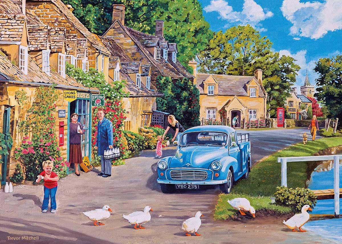 Morning Delivery People Jigsaw Puzzle