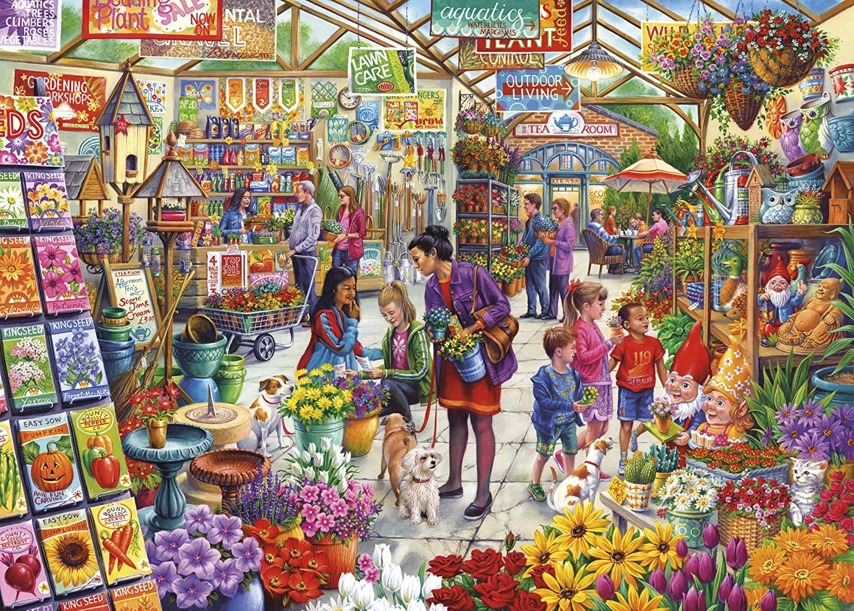 Gardener's Delight Flowers Jigsaw Puzzle