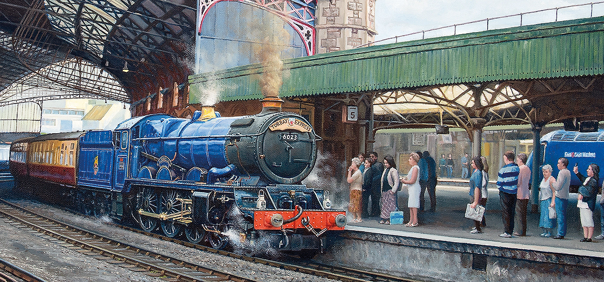 Arrival at Temple Meads Trains Jigsaw Puzzle