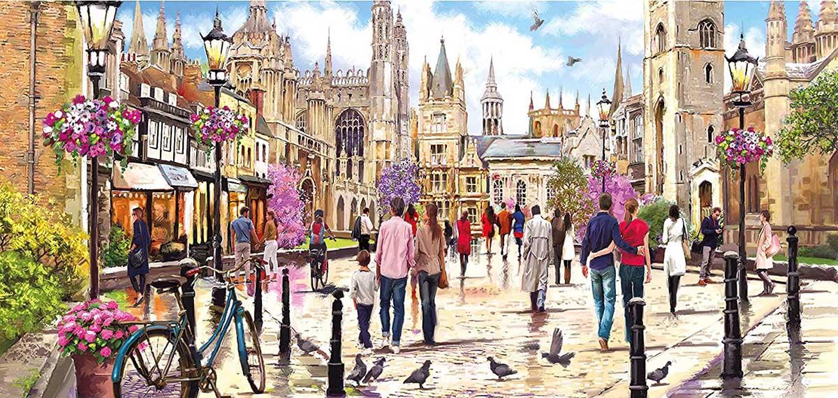 Cambridge United Kingdom Jigsaw Puzzle
