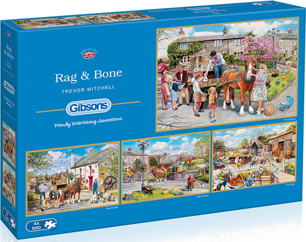 Rag & Bone Horses Jigsaw Puzzle