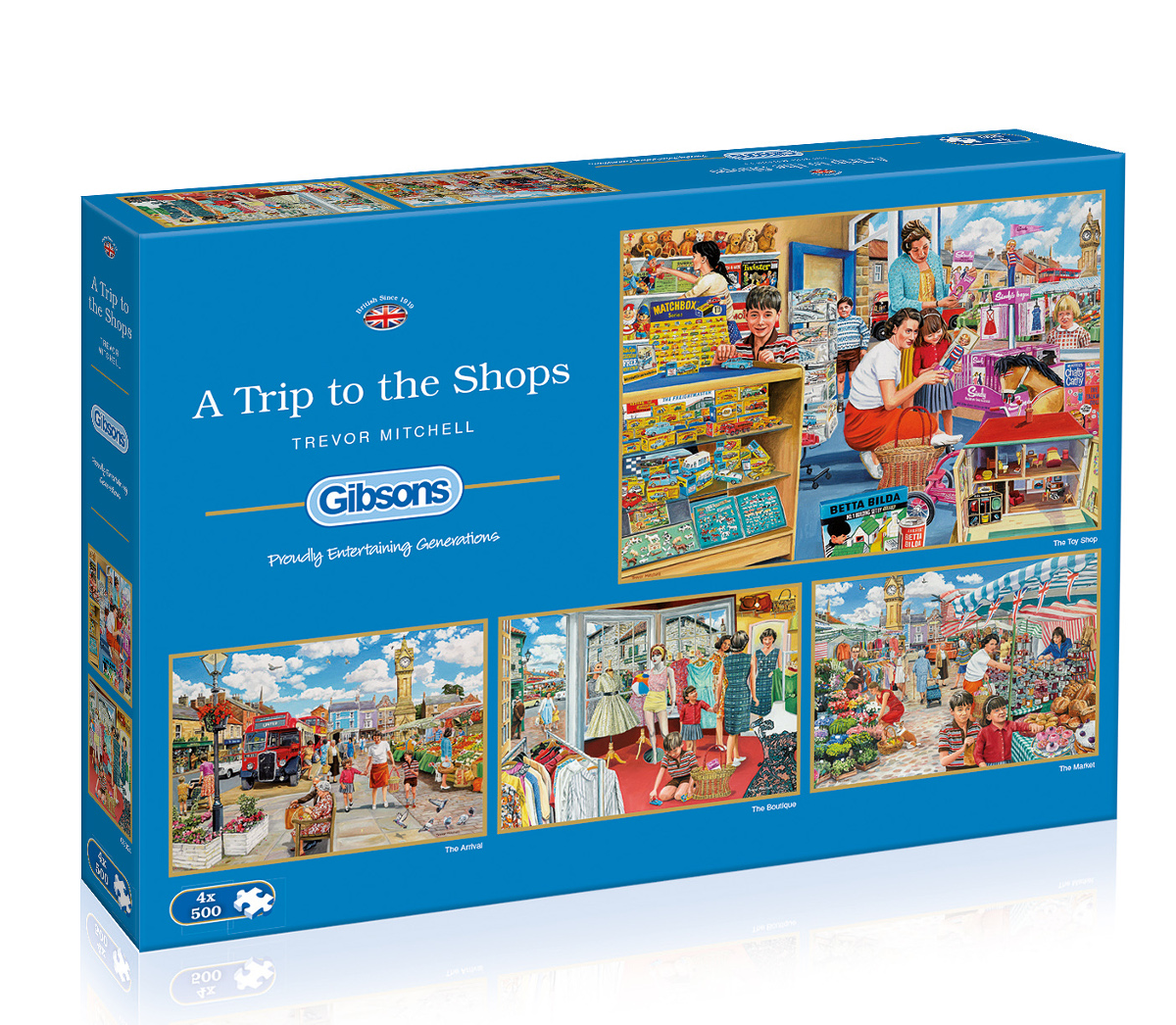 A Trip to the Shops Shopping Jigsaw Puzzle