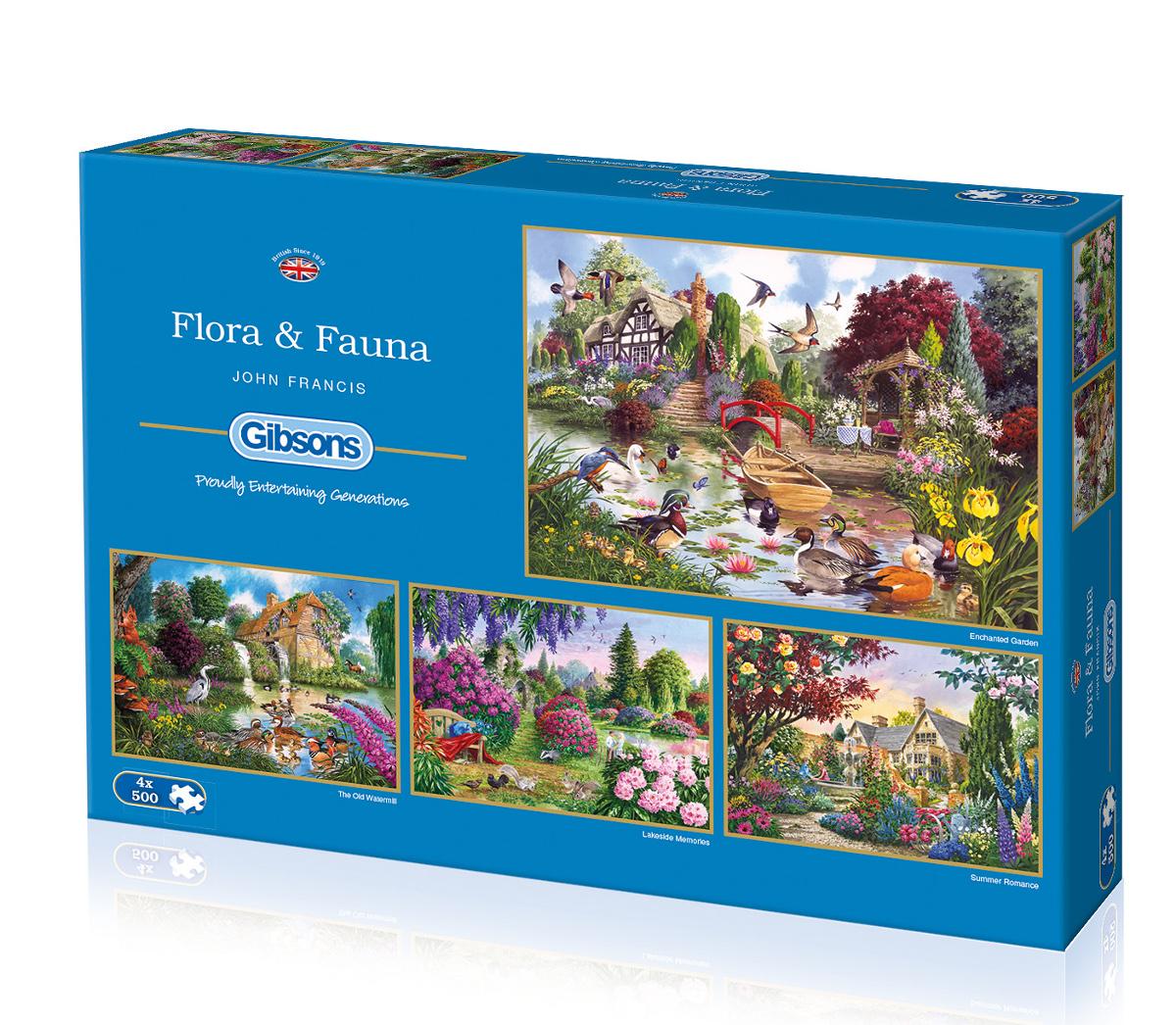 Flora & Fauna Birds Jigsaw Puzzle