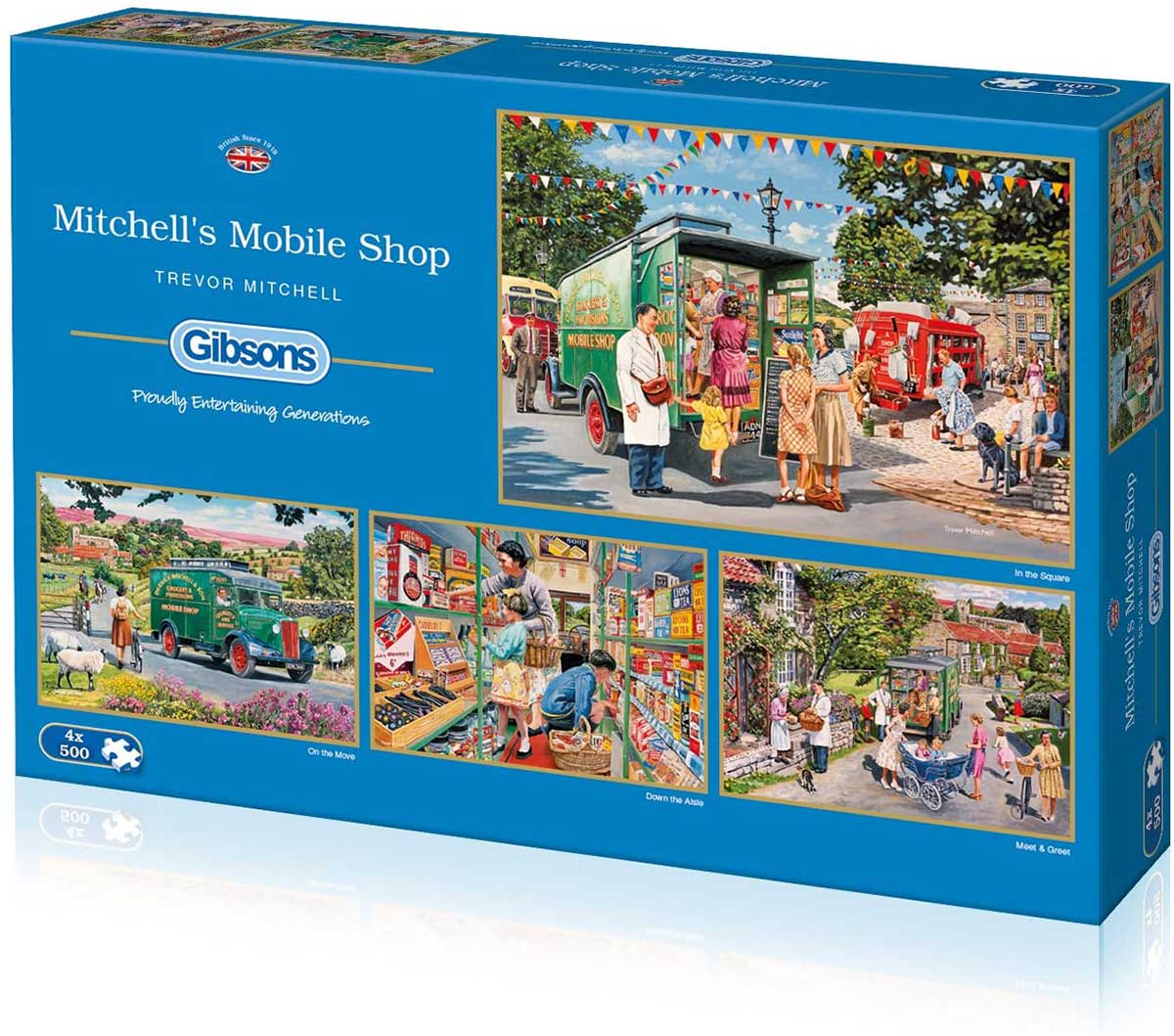 Mitchell's Mobile Shop Vehicles Jigsaw Puzzle