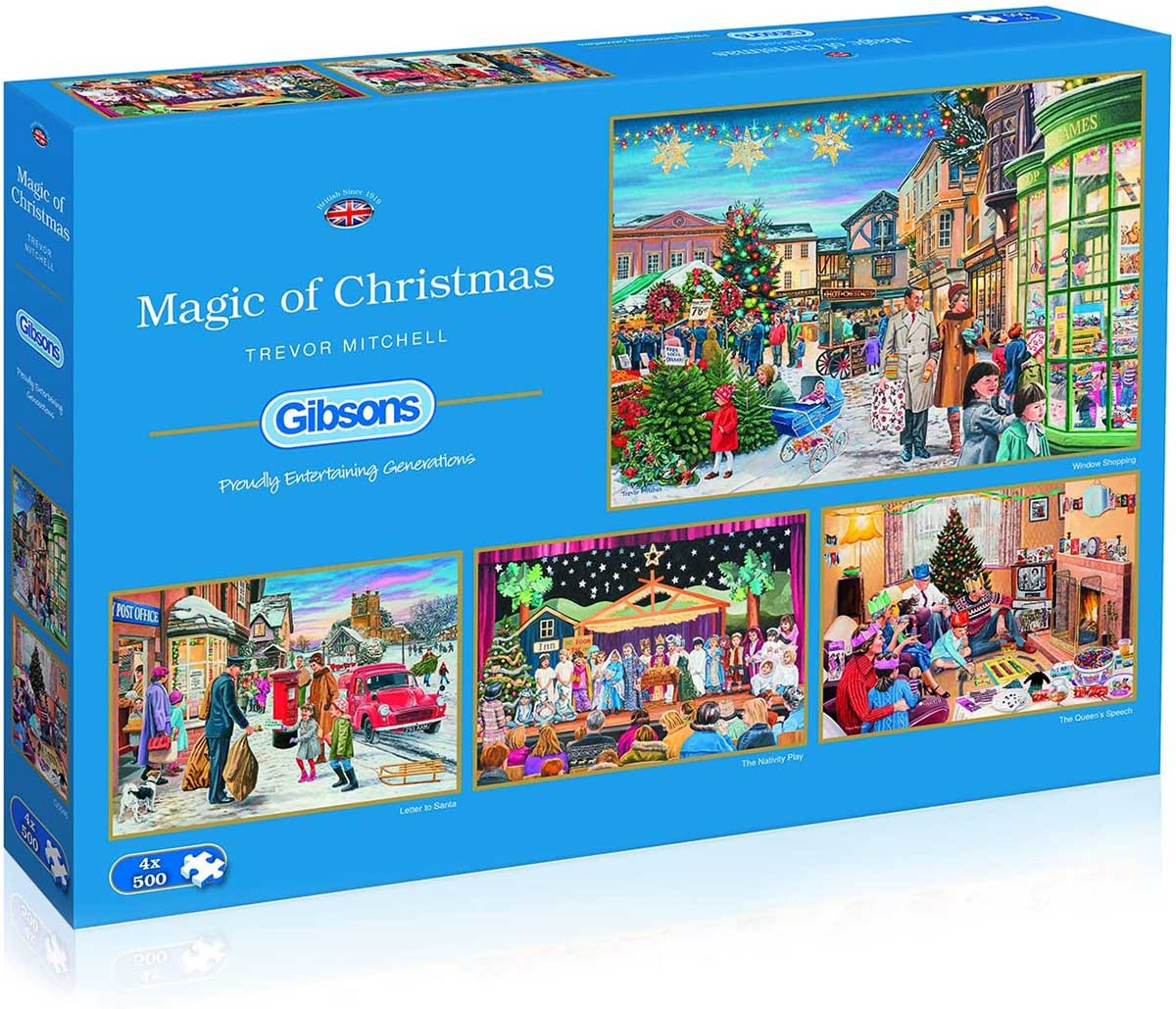 Magic of Christmas Christmas Jigsaw Puzzle