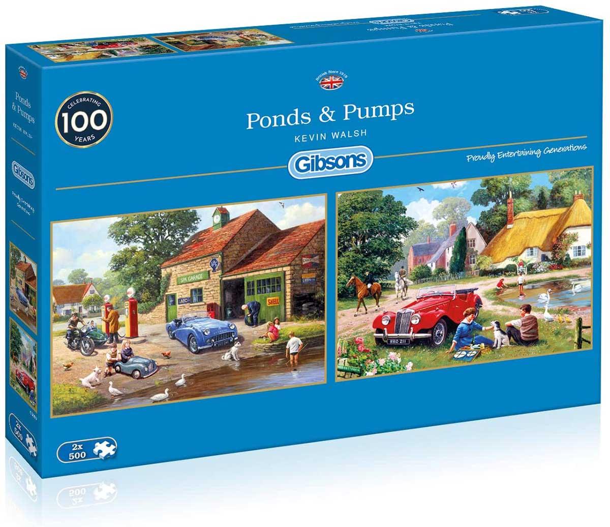 Ponds & Pumps Cars Jigsaw Puzzle