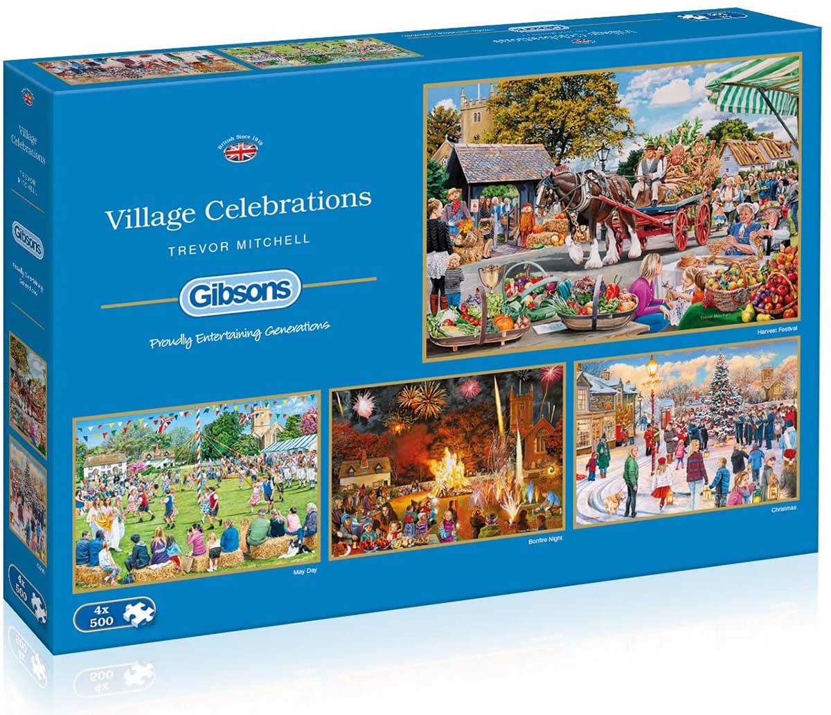 Village Celebrations Fall Jigsaw Puzzle
