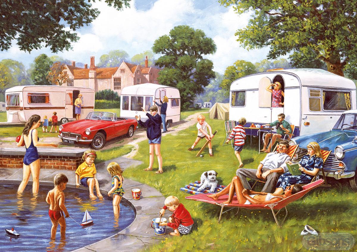 Caravan Travel Jigsaw Puzzle