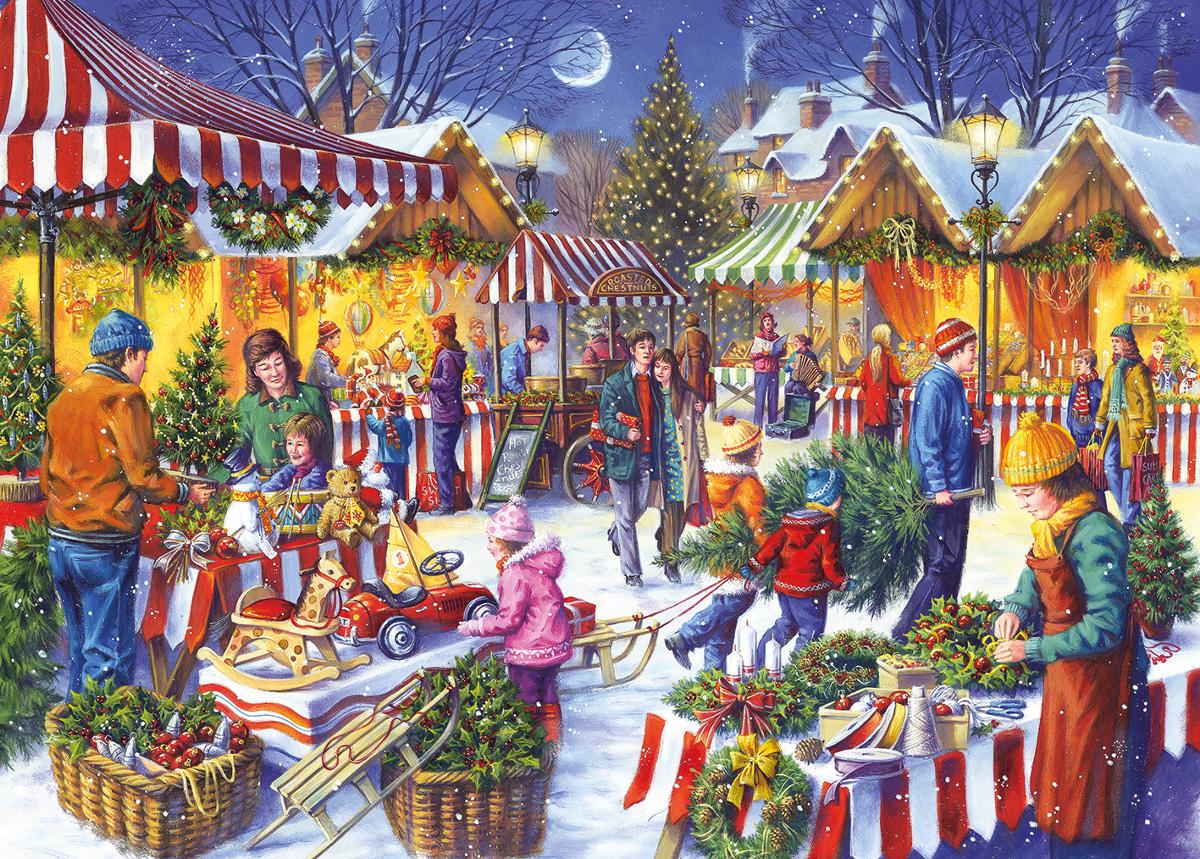 Christmas Fayre Christmas Jigsaw Puzzle