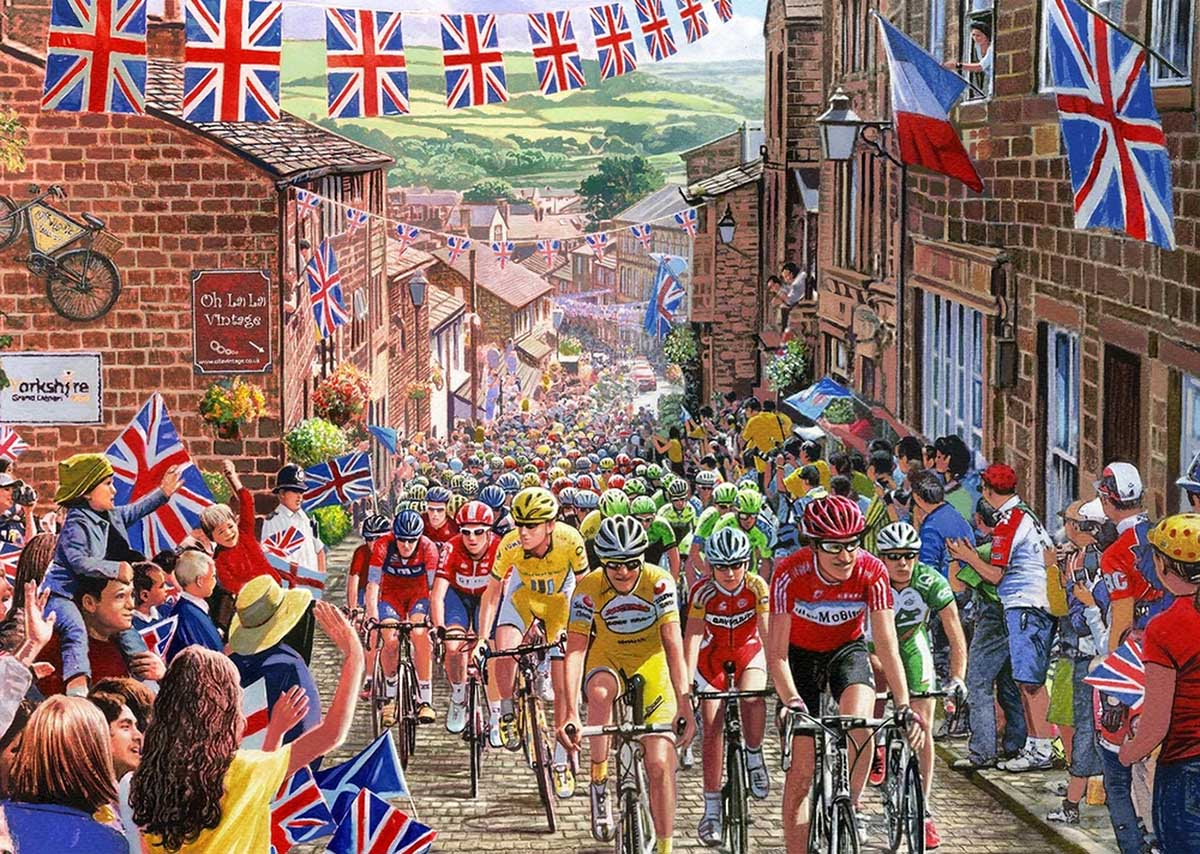 Le Tour de Yorkshire Vehicles Jigsaw Puzzle