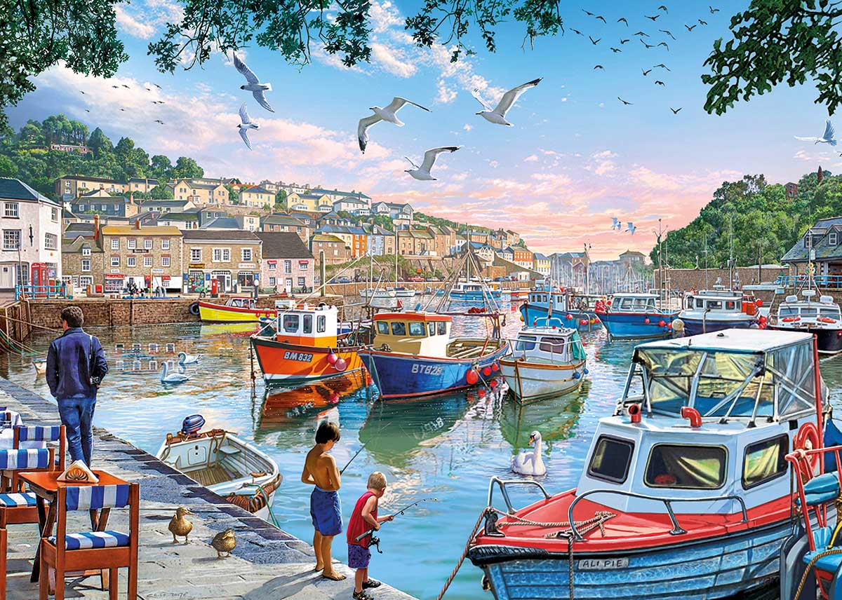 First Catch Boats Jigsaw Puzzle