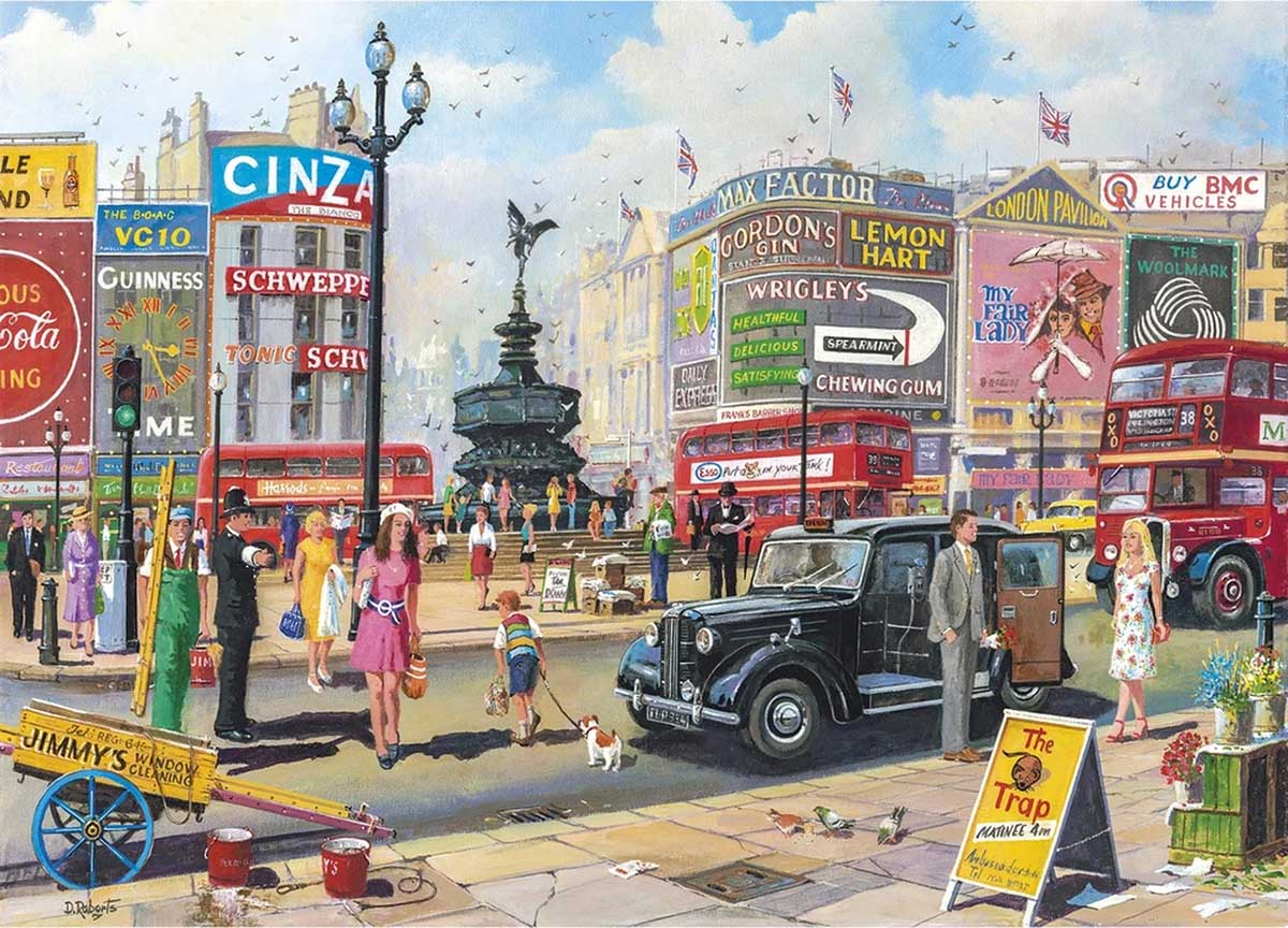 Piccadilly Travel Jigsaw Puzzle