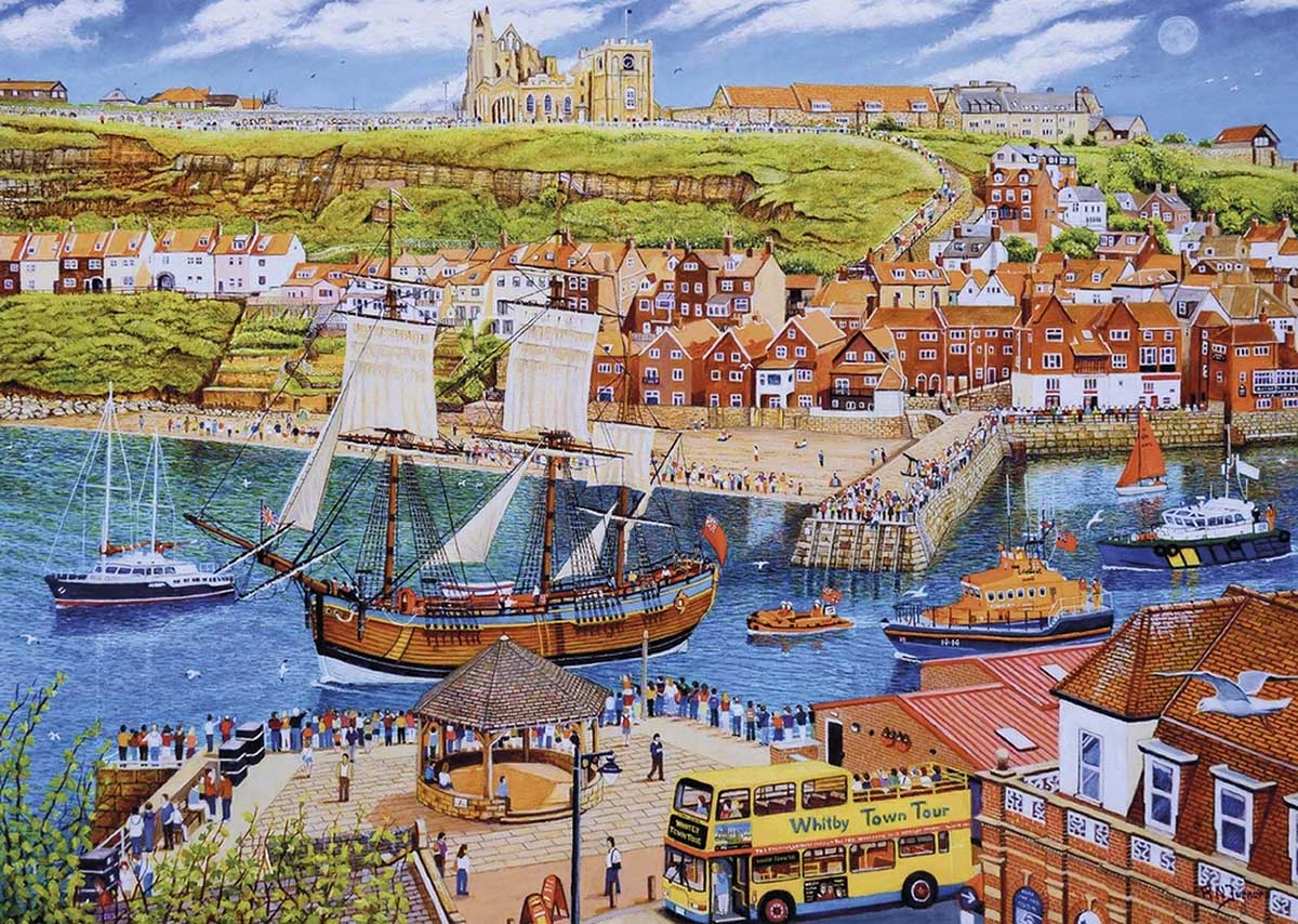 Endeavour, Whitby Boats Jigsaw Puzzle