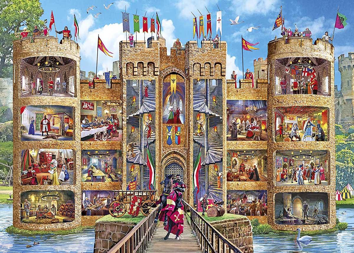 Castle Cutaway Castles Jigsaw Puzzle