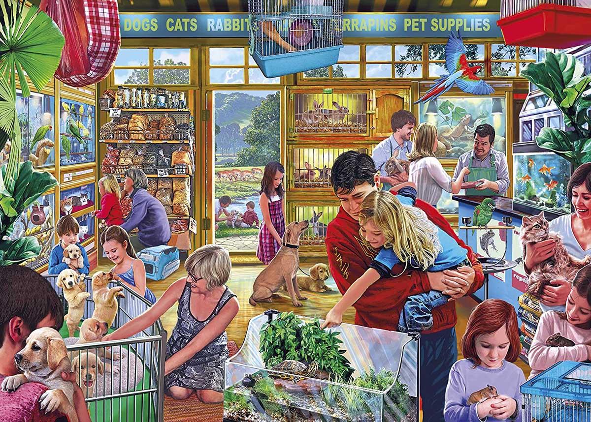 Furry Friends Animals Jigsaw Puzzle