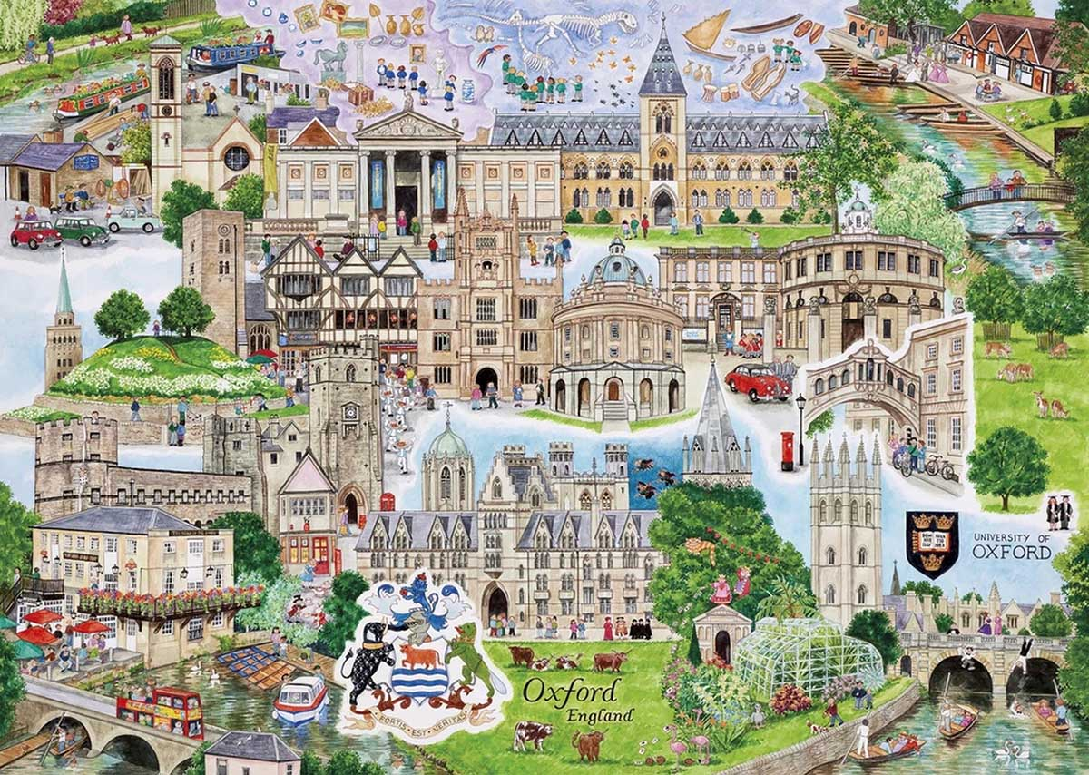 Oxford Travel Jigsaw Puzzle