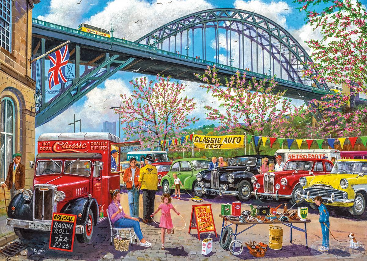 Newcastle Vehicles Jigsaw Puzzle