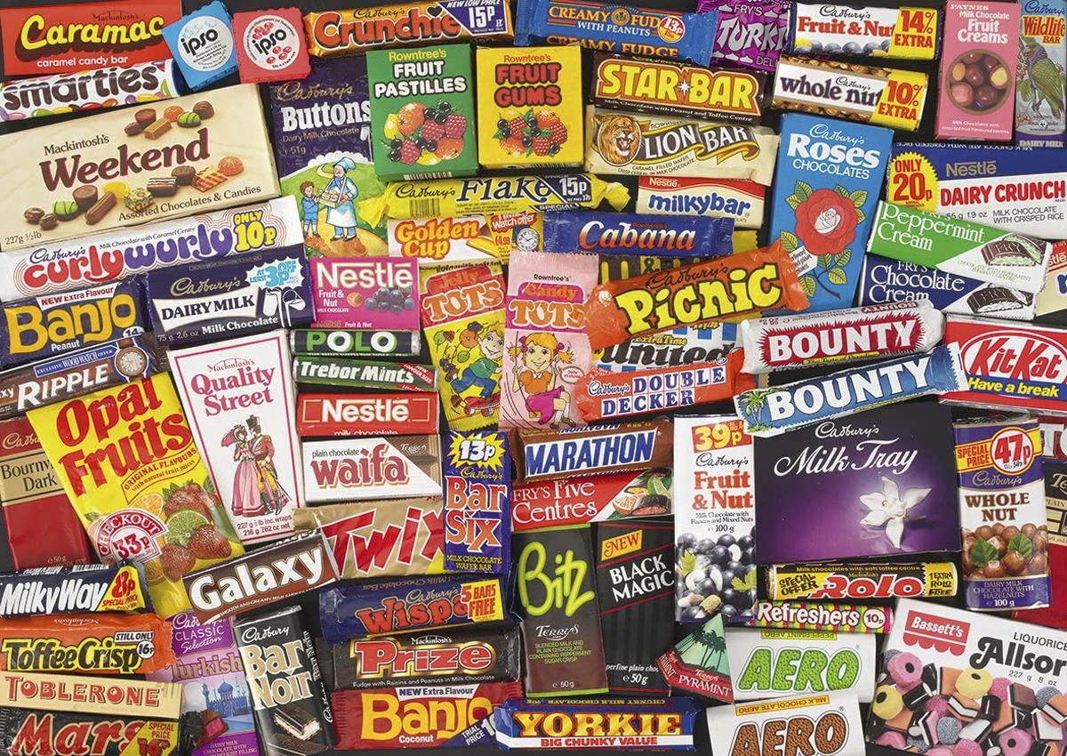 1980s Sweet Memories Nostalgic / Retro Jigsaw Puzzle