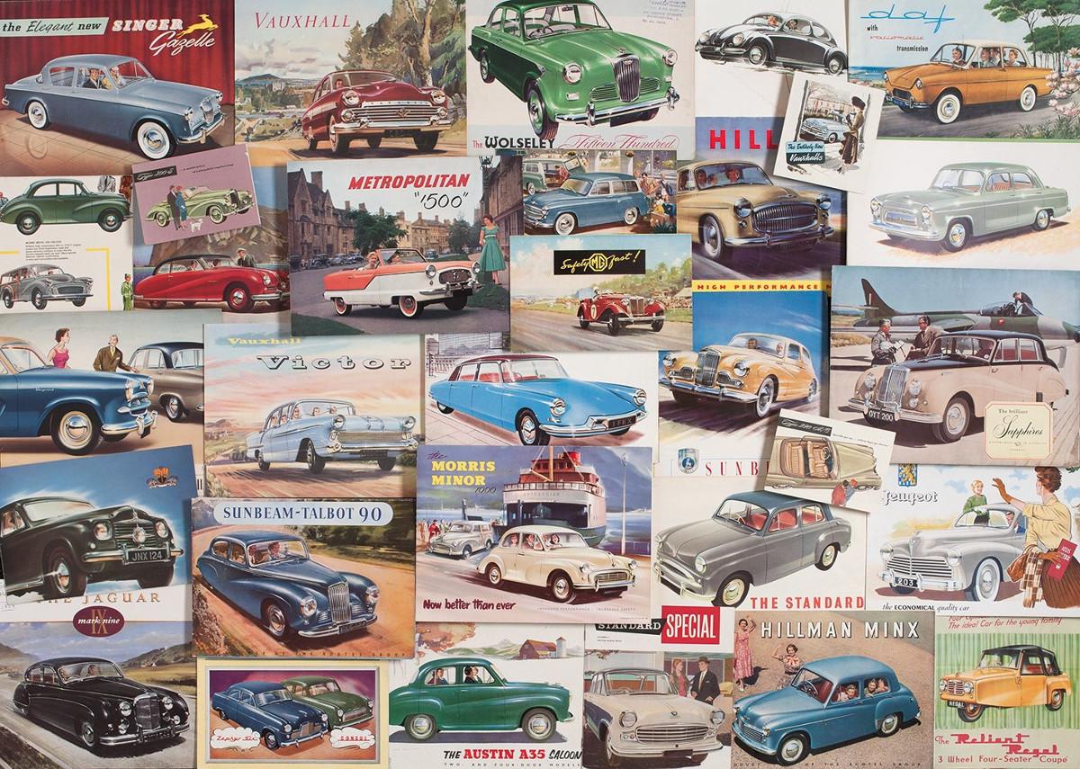 Motoring Memories Cars Jigsaw Puzzle