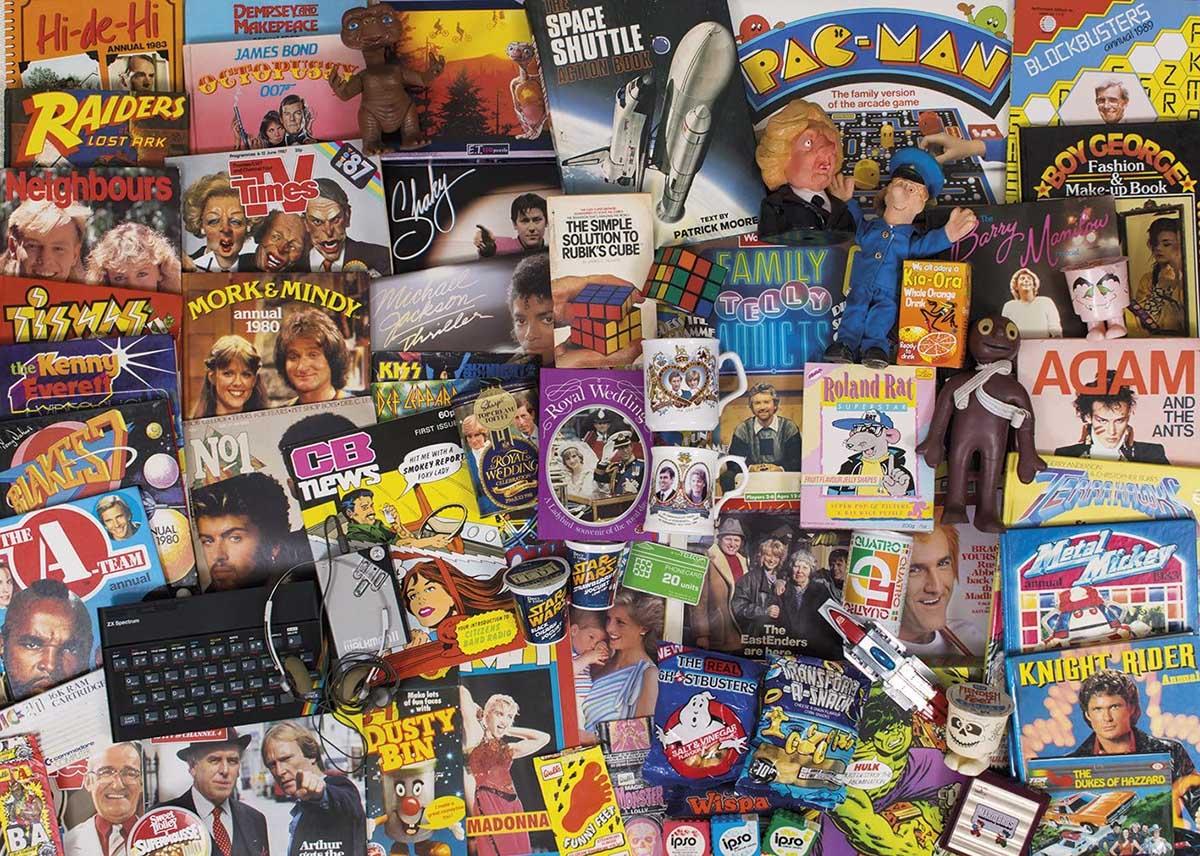 Spirit Of the 80s Nostalgic / Retro Jigsaw Puzzle