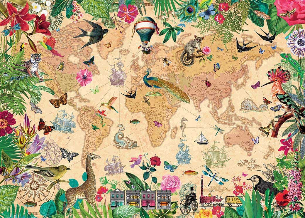 A World of Life Animals Jigsaw Puzzle