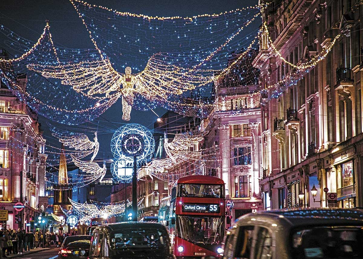 London Lights London Jigsaw Puzzle
