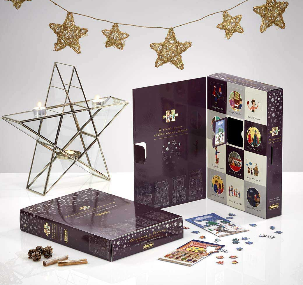 Christmas is Coming Advent Calendar Christmas Jigsaw Puzzle