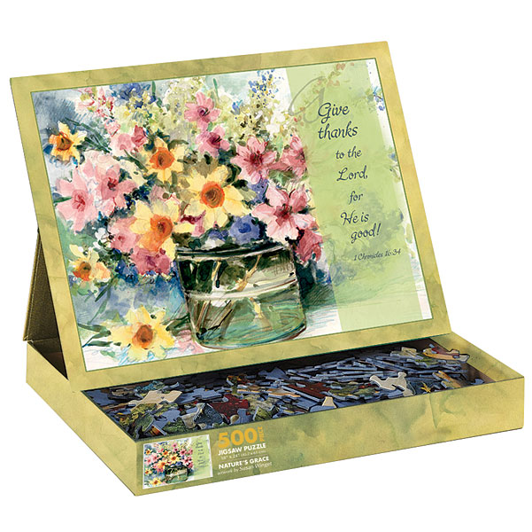 Natures Grace Flowers Jigsaw Puzzle