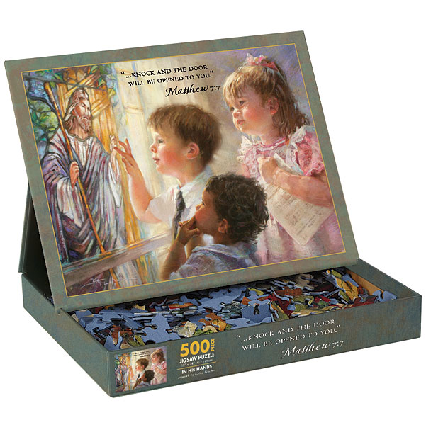 In His Hands Religious Jigsaw Puzzle