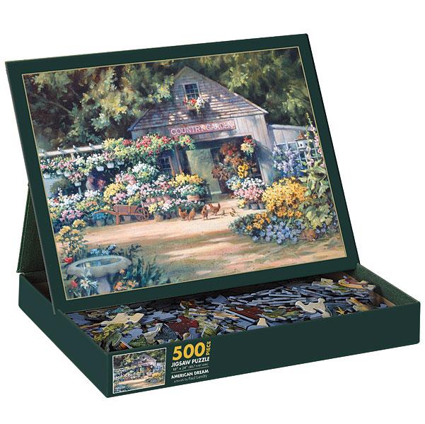 American Dream Spring Jigsaw Puzzle