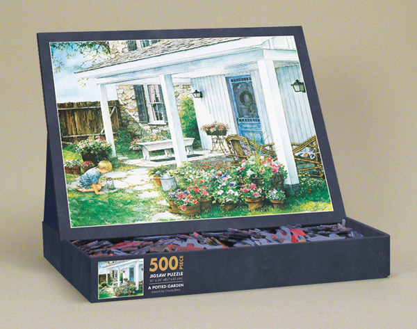 A Potted Garden Garden Jigsaw Puzzle