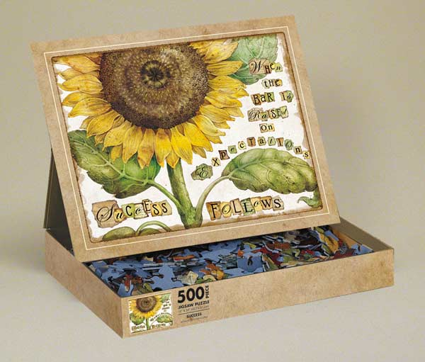 Success Flowers Jigsaw Puzzle