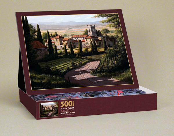 Twilight in Venice Contemporary & Modern Art Jigsaw Puzzle