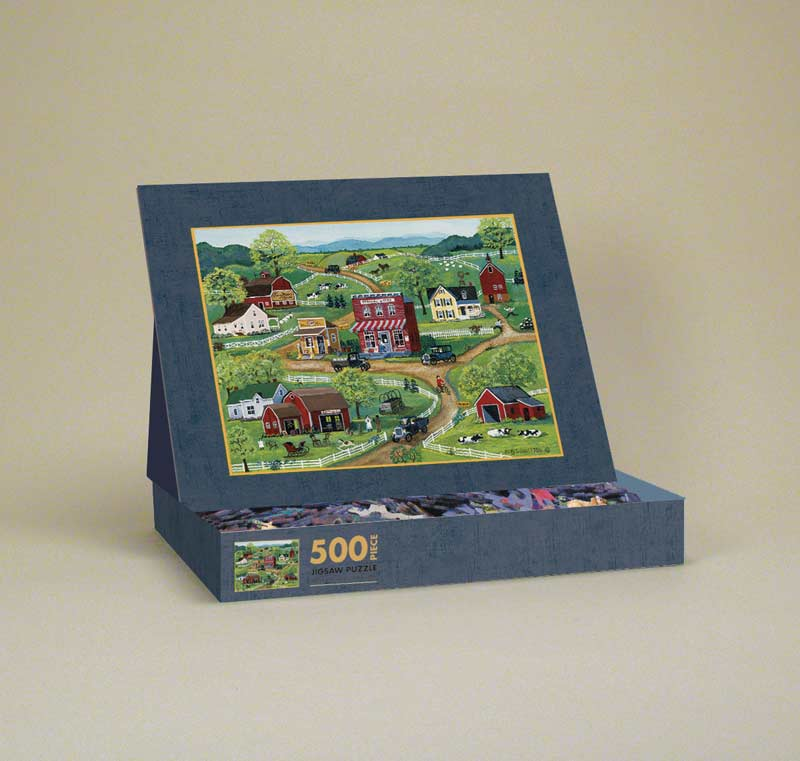 General Store Countryside Jigsaw Puzzle