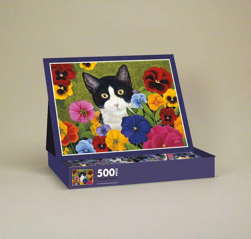 Newman Piggy Cats Jigsaw Puzzle