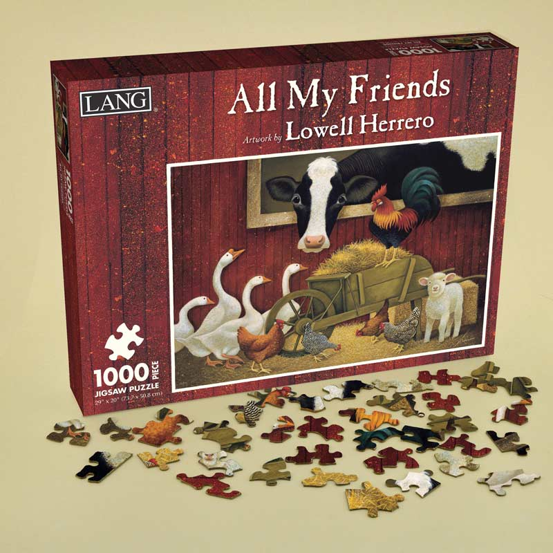 All My Friends Farm Animals Jigsaw Puzzle