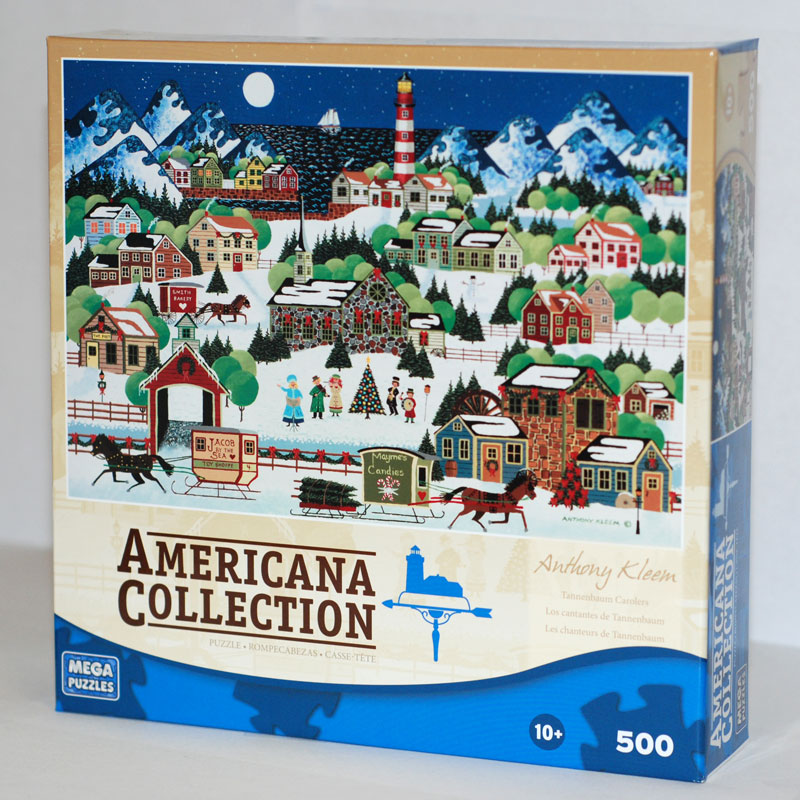 Tannenbaum Puzzle.Americana Collection Tannenbaum Carolers