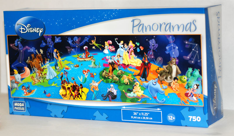 Panoramas world of disney jigsaw puzzle puzzlewarehouse panoramas world of disney disney jigsaw puzzle gumiabroncs Image collections