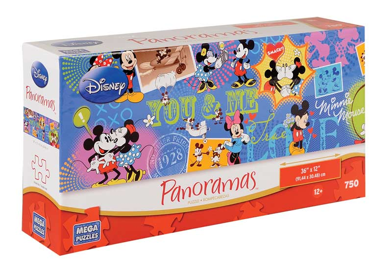 Disney Panorama - Mickey & Minnie Disney Jigsaw Puzzle